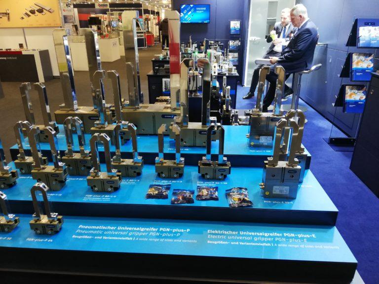 Besuch Schunk FMB Pneumatische und elektrische Greiftechnik
