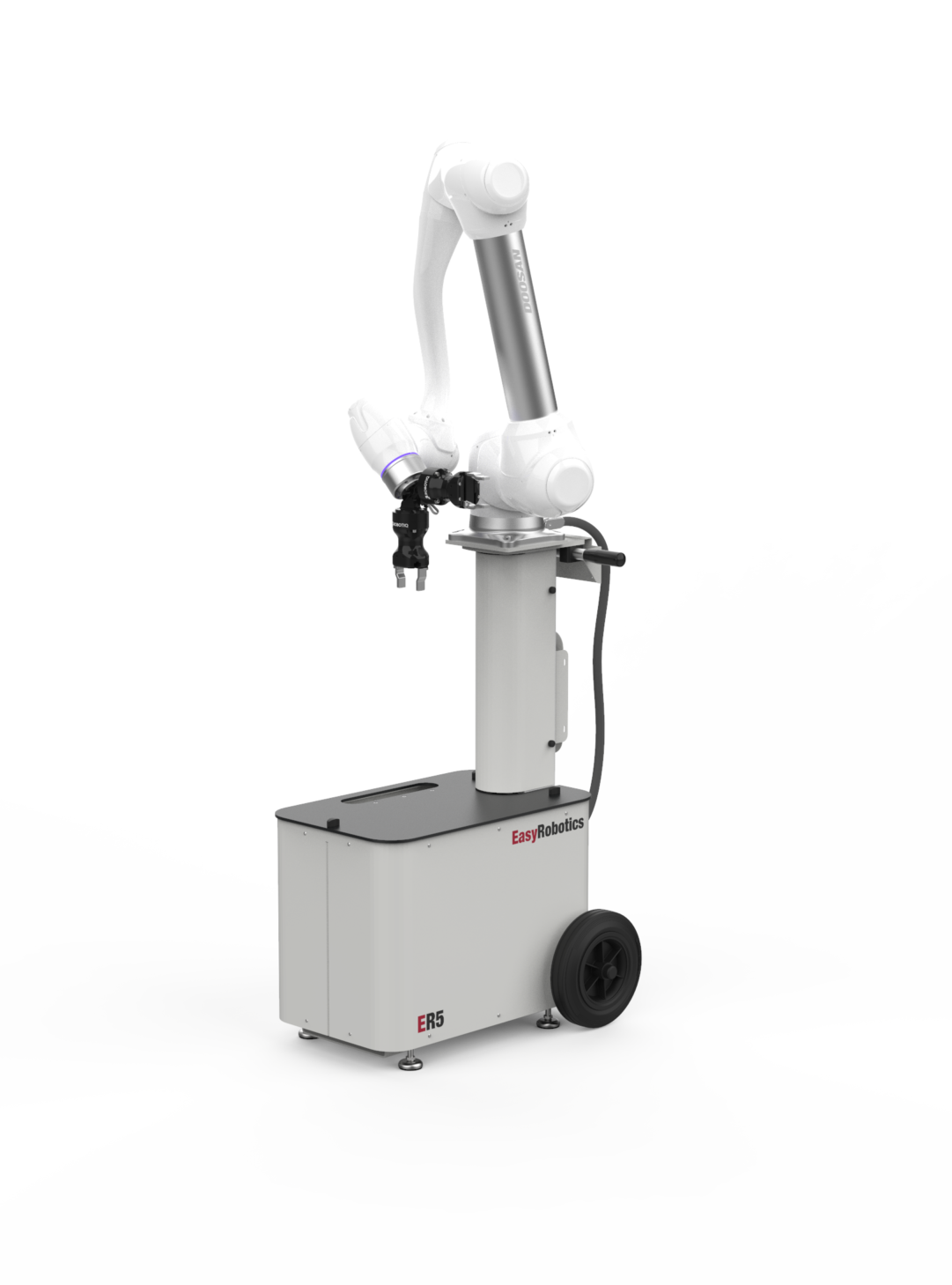 ER Work Mobile Cobot Platform Standard-Applikation: Palettierung / Pick & Place