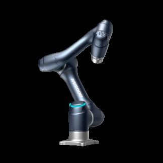 Doosan Robotics A-Serie, A0509, günstiger Leichtarmroboter, EnBo, Entlastungsroboter, cobot, seitansicht cockpit sichtbar