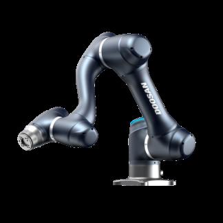 Doosan Robotics A-Serie, A0509, günstiger Leichtarmroboter, EnBo, Entlastungsroboter, cobot, seitlich-frontal