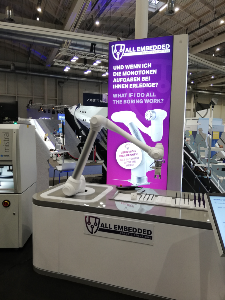 NORTEC 2020 Messestand All Embedded