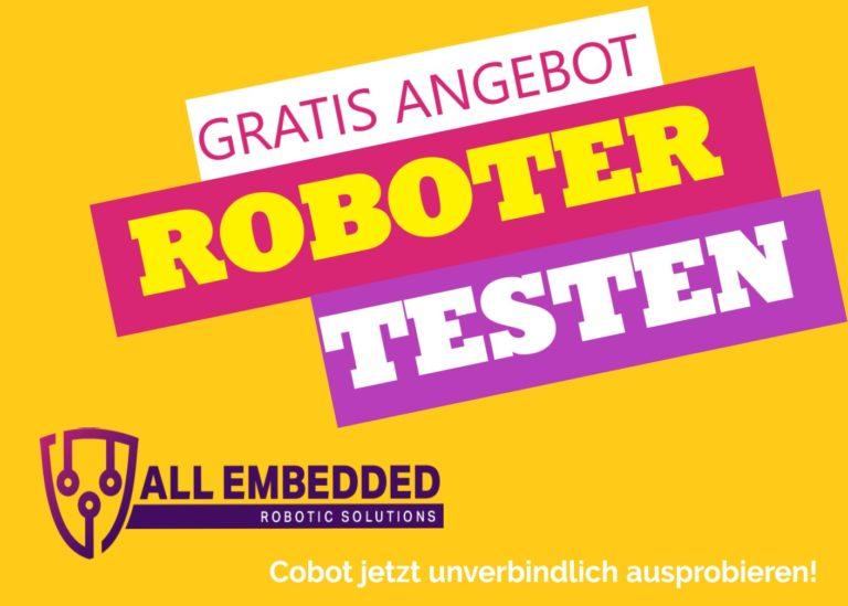 Roboter kostenlos ausprobieren testen